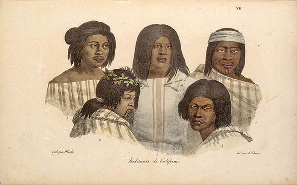 California Indians Portrait