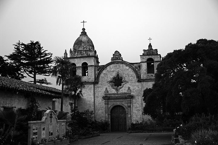 Mission San Carlos de Borromeo. Courtesy of Paul Richmond.