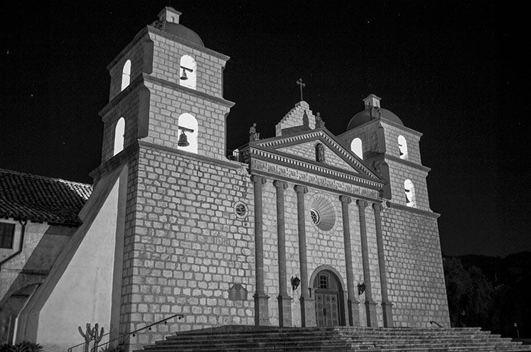 Mission Santa Barbara. Courtesy of Paul Richmond.