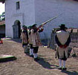 Soldados at Santa Barbara Presidio