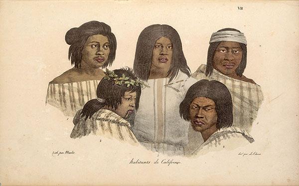 California Indians Portrait