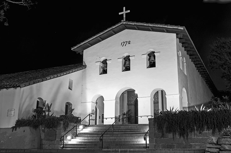 Mission San Luis Obispo. Courtesy of Paul Richmond.