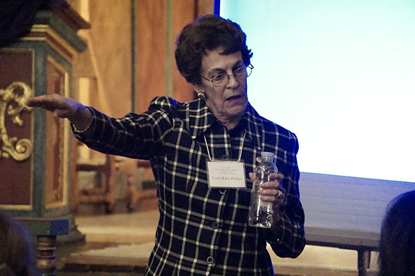 The 2016 Keynote Address was given by Dr. Carla Rahn Phillips, noted historian and expert on Spanish maritime history.