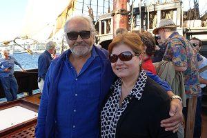 Soldados de Cuera descendent Ignacio Felix Cota and Cynthia Gomez.