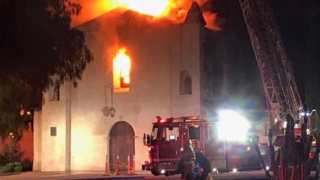 San Gabriel Fire