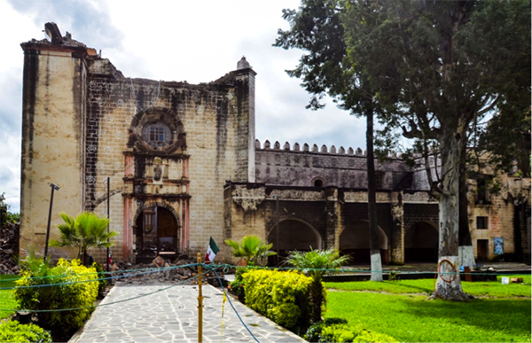 San Guillermo after quake